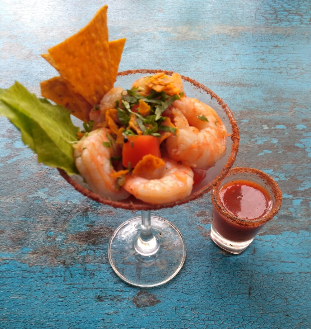 Sauteed Shrimp Ceviche at Club in Andheri